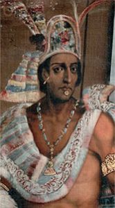 """The Aztecs used cocoa to create a form of """"hot chocolate"""" or as they called it """"xocolatl"""" which means bitter water. Supposedly the Aztec Emperor, Montezuma – was quoted saying of Xocolatl: """"The divine drink, which builds up resistance and fights fatigue. A cup of this precious drink permits a man to walk for a whole day without food"""""""