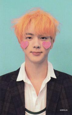 Seokjin jin photo card scan love yourself answer version f BTS Seokjin, Namjoon, Taehyung, Jimin, Bts Bangtan Boy, Foto Bts, Bts Photo, Jung Hoseok, Daniel Molo