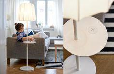 Einrichten mit Lila: Möbel in Lila: Träumen in Lila: Polsterbett mit hohem Kopfteil | LIVING AT HOME