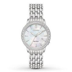 Citizen Womens Watch Eco-Drive Diamond EW2280-58D