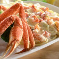 Absolute favorite. Snow Crab & Crab Linguini Alfredo.