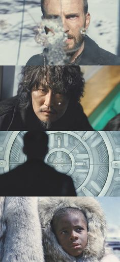 Snowpiercer, 2013 (dir. Bong Joon-ho). I'm a bit desperate to see this but it doesn't seem to have had much of a release in the UK.