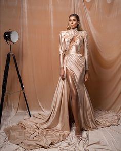 Albina Dyla dresses are gorgeous and loved by many women around the world. Albina Dyla gowns are so beautiful you will fall in love. Sexy Dresses, Beautiful Dresses, Nice Dresses, Fashion Dresses, Prom Dresses, Formal Dresses, Wedding Dresses, Award Show Dresses, Designer Jumpsuits