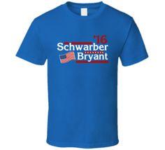 Chicago Baseball Kris Bryant Kyle Schwarber T Shirt