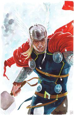 Thor by Stéphanie Hans