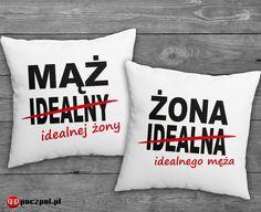 zestaw poduszek MĄŻ I ŻONA  #mążiżona #mąż #żona #dlapar #para #miłość #poczpol #poduszka #poduszkaznapisem #instalove #instacouple #dlaniej #dlaniego #polishboy #polishgirl #walentynki #instaboy #instagirl #prezent Gifts For Him, Most Beautiful Pictures, Told You So, Presents, Throw Pillows, Number, Stop It, Gifts, Toss Pillows