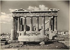 Athenes – Le Parthenon, δεκαετία 1930 Parthenon Athens, Acropolis, Classical Greece, Athens Greece, Stone Work, Ancient Greece, Crete, Marina Bay Sands, Archaeology