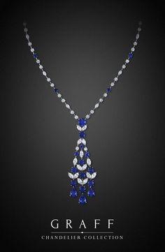 Graff Diamonds: Chandelier Necklace