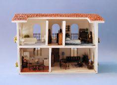 1/144th inch scale miniature-Furnished Casita
