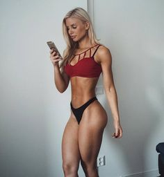 15 Fitness girls who give you motivation for sport before this summer Fitness Inspiration, Body Inspiration, Michelle Lewin, Body Guide, Fitness Models, Fitness Women, Fitness Motivation, Modelos Fitness, Ripped Girls