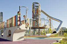 Wulaba Park Playground | Tensile Design & Construct
