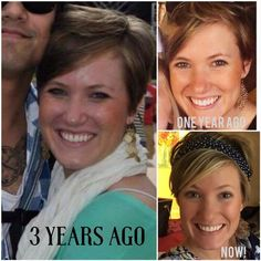 """Oh my gosh!!! Look at Laura's awesome results! This proves you're never too young to start a good skin care regimen!! Here's what she said: """"Want to know what taking care of your skin looks like? Before RF, I washed my face with soap. Pictures prove it. First picture 3 years ago I actually had on makeup and foundation. Second picture, foundation free with our peptides and some blush, and the current picture...SAME, foundation free, filter free!  www.nmittasch.myrandf.com"""
