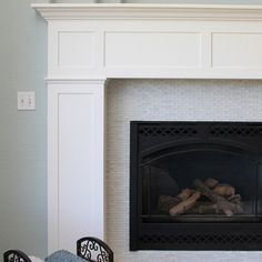 build a fireplace surround with mantel shelf - How To Build A Fireplace Surround