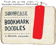 Showcase: Bookmark Doodles - Doodlers Anonymous