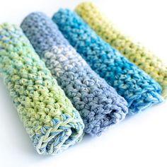 Thick Crochet Dishcloths