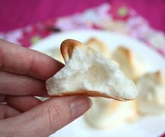Sugar-Free Meringue Recipe:  Can be used for gluten free, low carb meringue cookies using primarily egg whites and erythritol