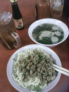 Mie bangka from Indonesia!