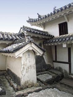 Himeji Castle Roofs And Gables - Japan Photograph - Japan Fine Art Print Asian House, Himeji Castle, Japanese Castle, Medieval Houses, Castle Wall, Shiga, Japanese Aesthetic, Old Buildings, People Art