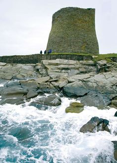 Mousa Broch in Shetland is a building which is over 2,000 years old!