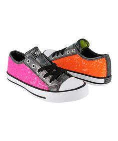 Another great find on #zulily! Pink & Orange Twist Me Jiggy Sneaker by Gotta Flurt #zulilyfinds