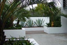 aménagement paysager moderne maison architecte