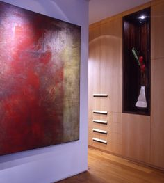 WOW Architects. ASTRID MEADOWS  SINGAPORE APARTMENT 180 M² INTERIOR DESIGN 2000 Spatial flexibility and fluidity drive the design of this house which can be transformed depending on usage. A walk-in wardrobe becomes a room to act as a privacy buffer between the master bedroom and the living room. Mirror panels of the wardrobe slide into walls to yield a large luxurious master suite. Large bi-folding doors disappear when they slide open, amplifying the living room space.