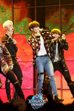 [Picture] BTS on Mnet Mcountdown [160512]