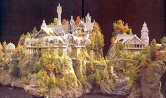 Rivendell - Lord of the Rings | 24 Famous Miniature Movie Sets That Will Blow Your Mind