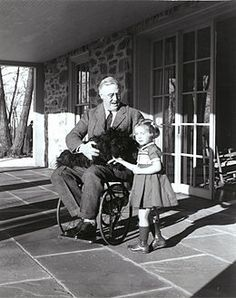 Franklin D. Roosevelt's paralytic illness. Famous figure who suffered from Polio.