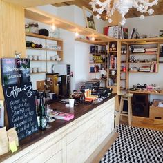 プリティ シングス Coffee Stands, Get Happy, Liquor Cabinet, Bakery, Storage, Shop, Furniture, Home Decor, Business