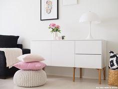 olohuone // All you need is White Haku, Lund, All You Need Is, Minimalist, Dreams, Living Room, Tv, Nice, Decoration