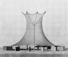 Frei Otto: Cooling tower project, 1974