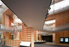 Musashino Art University Museum & Library - Tokyo, Japan (Sou Fujimoto, 2010)