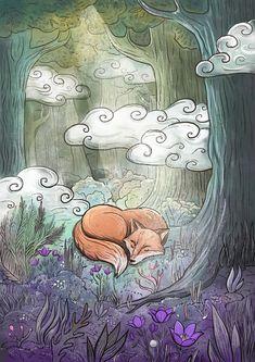 Сообщество иллюстраторов | Иллюстрация Сон-трава.