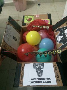 Starwars surprise box for birthday , boyfriend, friend