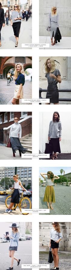 Proportions Catalogue Spring Edition: Skirts Part 1