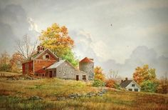 Fred Swan Oil Painting Well | Navy man, self taught Vermont landscape painter at the Robert Paul ...