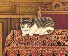 """Gato en cama- Salomon """"Sal"""" Meijer"""