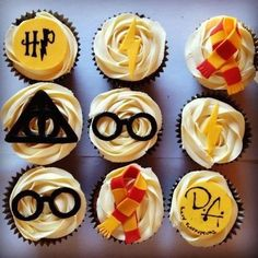 Harry-Potter-cupcakes... decoration