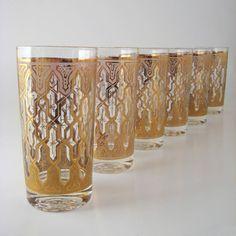 Vintage glass tumblers....love them!