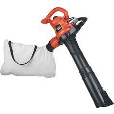 Stanley Black & Decker Lawn & Garden BV3600 12 Amp 240 Mph Blower Vacuum