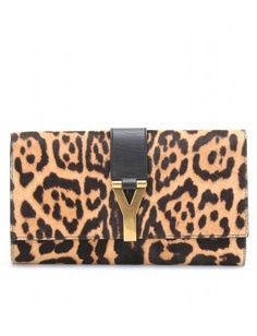 #YSL The perfect #clutch for the animal in all of us! #frenchriviera