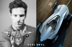 Art of Drive: Automotive Designer James Nissen — Fuel Tank