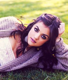 Lucy Hale- totally my version of Ana Steel