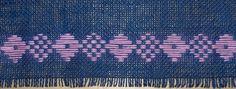 Ruusuvuoren tekstiilityö: Virvittäin ompelua