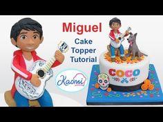 Coco Cake Topper: Miguel / Cómo hacer a Miguel (Coco Disney Pixar) - YouTube