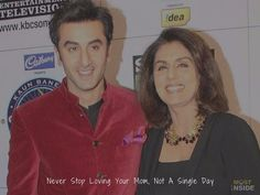 Never Stop Loving Your Mom, Not A Single Day