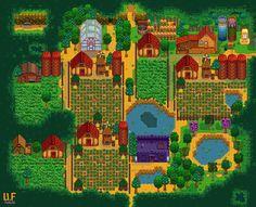Render of stardew.info farm plan (Stardew Valley)