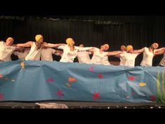 Talent Show - Teacher synchronized swimming - Best Quality! May 2014 - YouTube