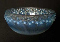 R. Lalique Glass Bowl